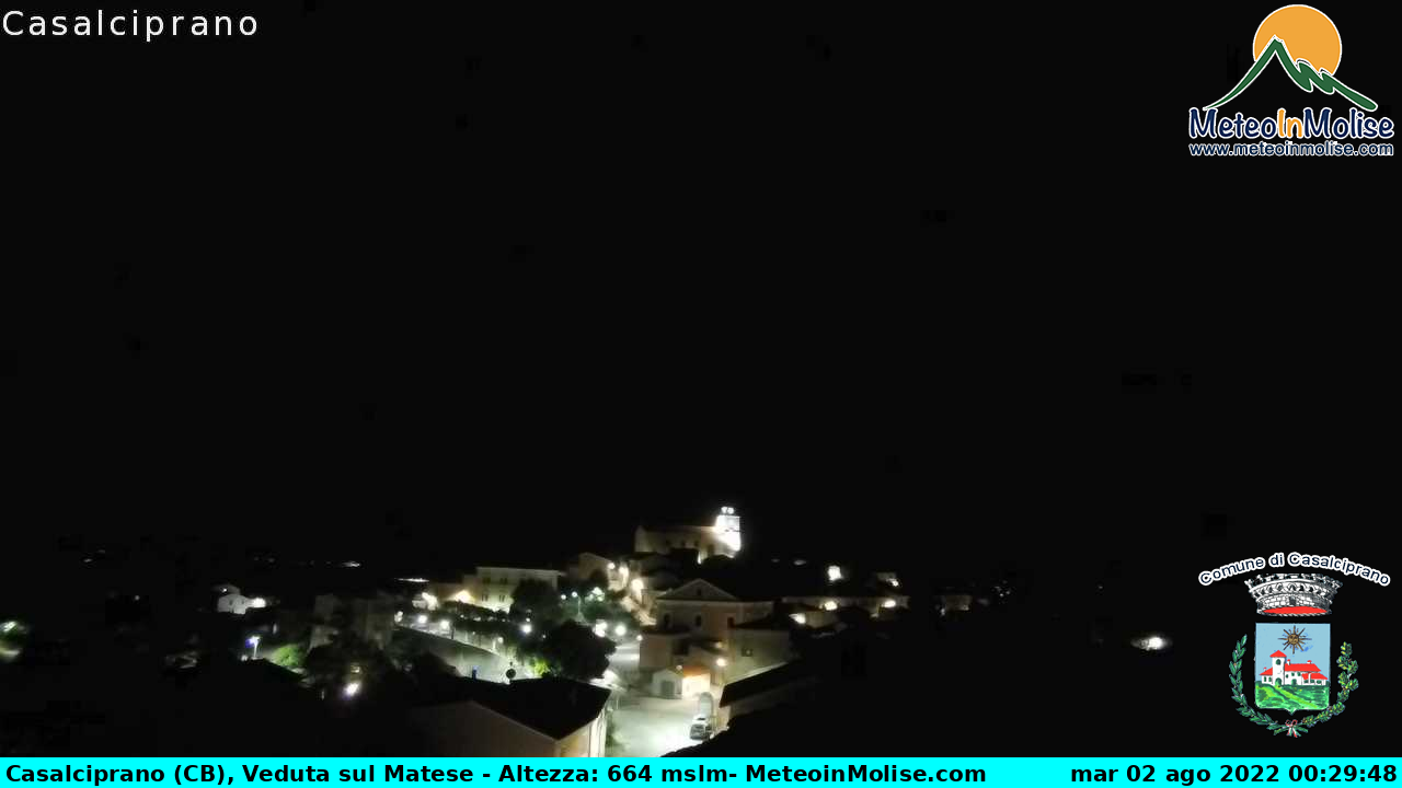 Webcam di Casalciprano