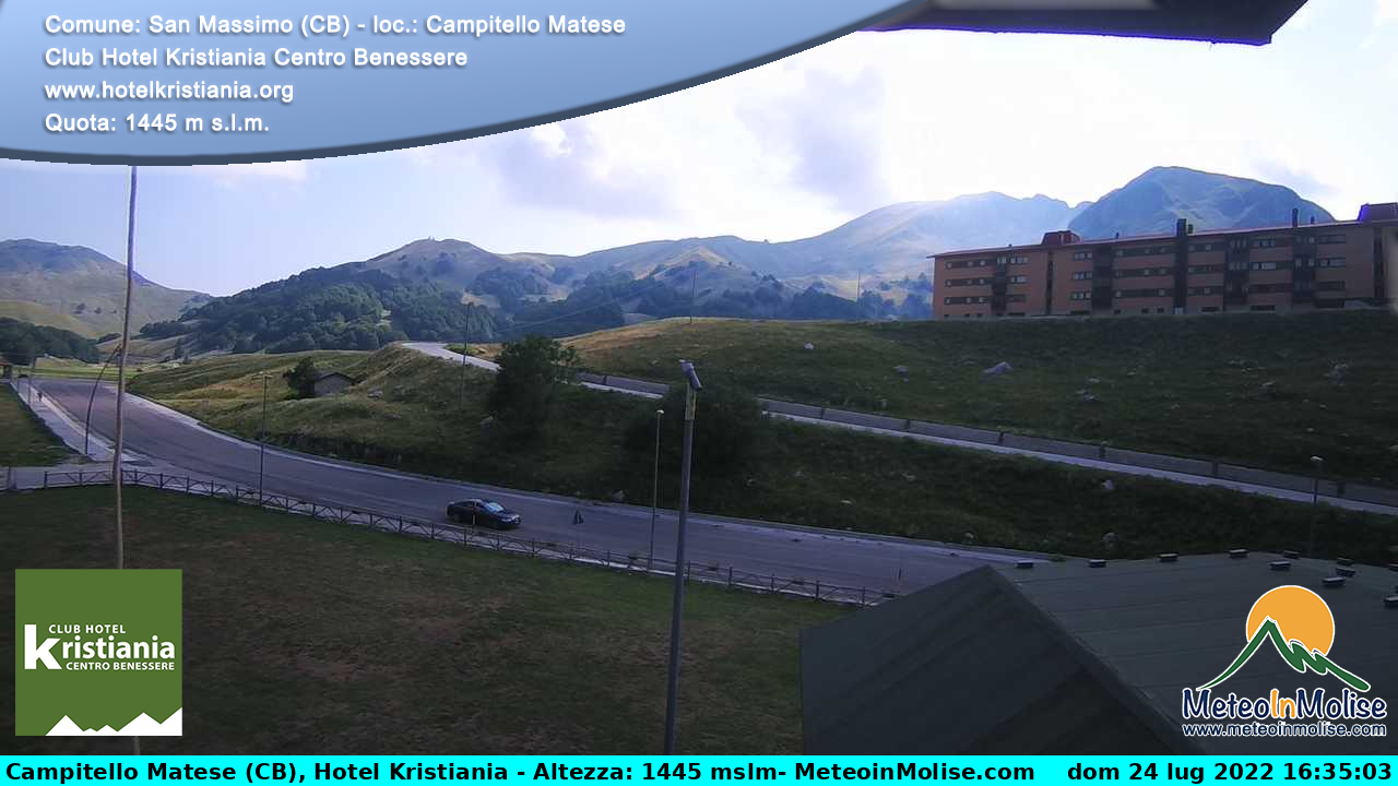 Webcam di Campitello Matese in diretta
