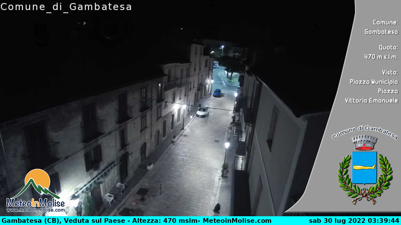 Webcam di Gambatesa