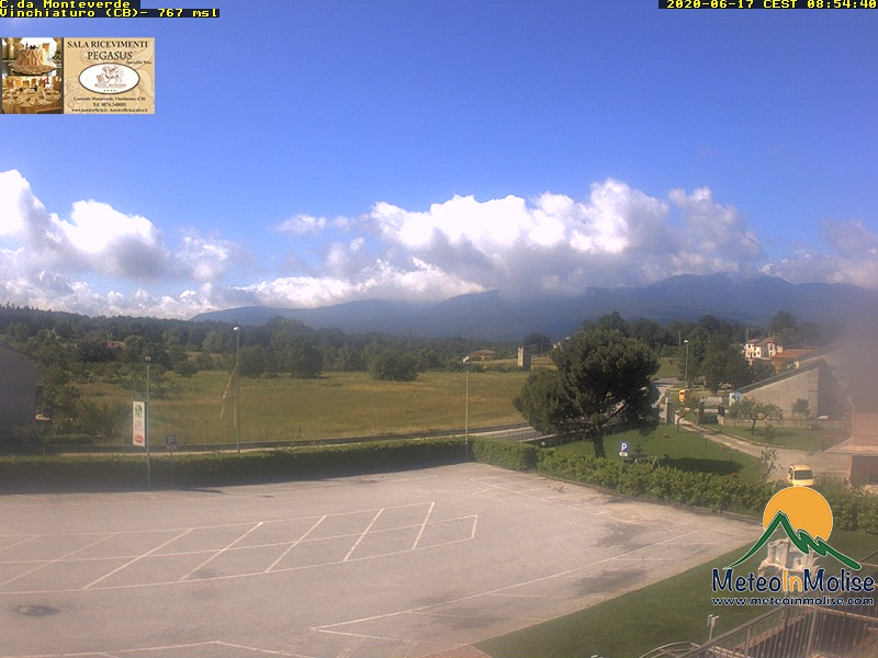 Webcam Monteverde di Vinchiaturo Campobasso