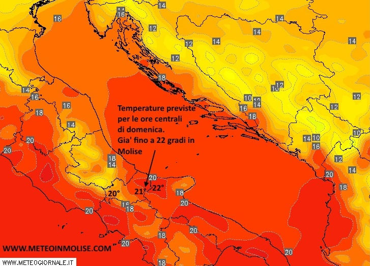 Weekend meteo
