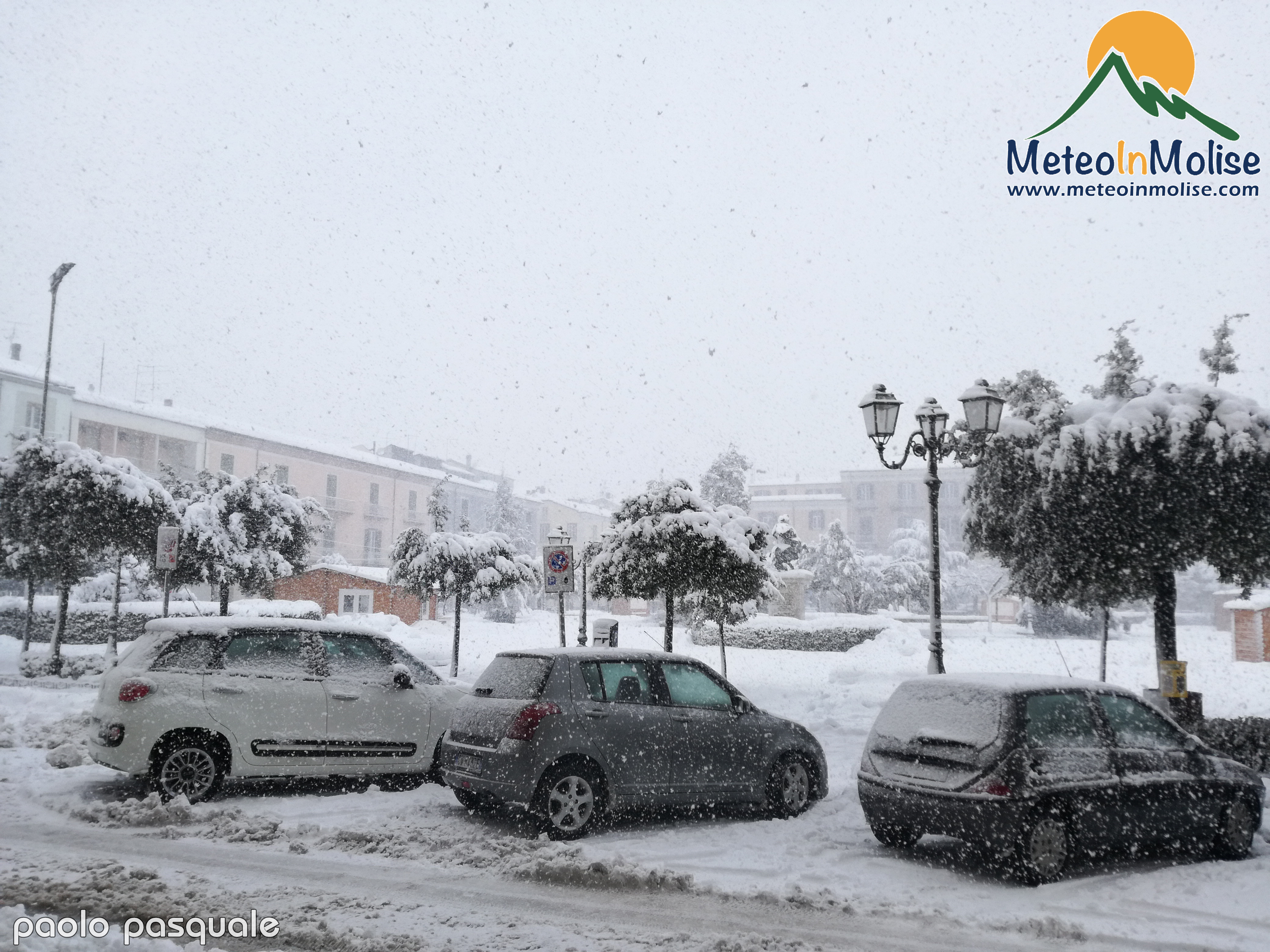 video nevicata
