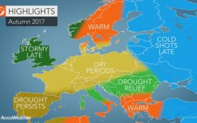 meteo autunno 2017