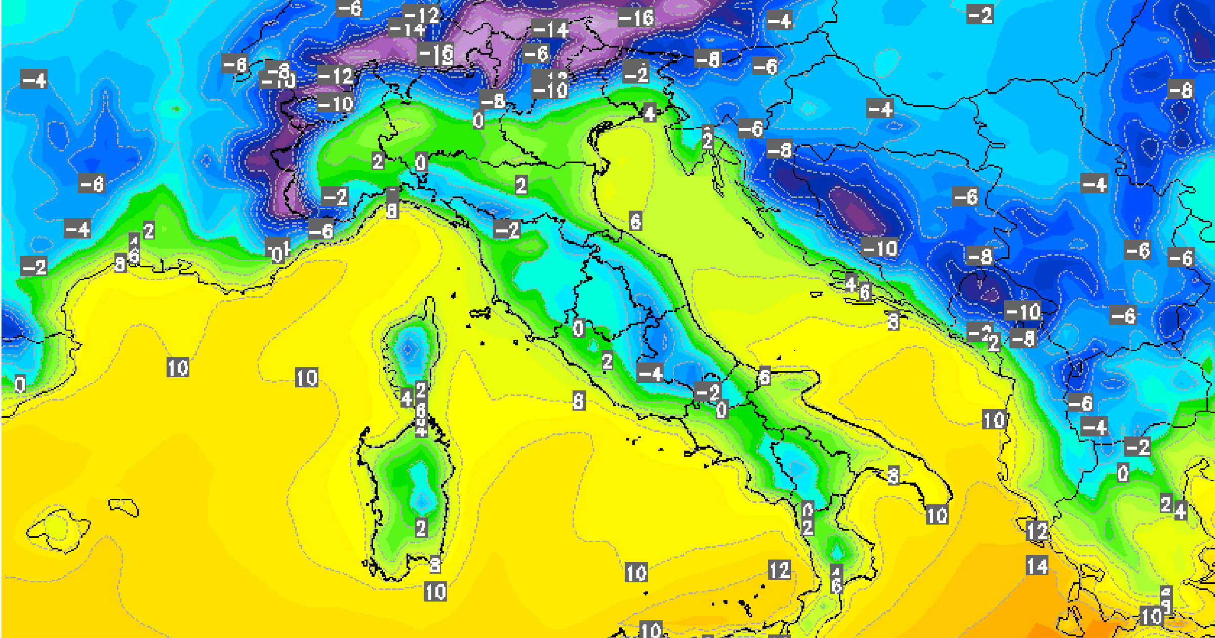 meteo molise weekend