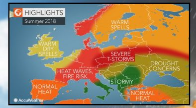 Meteo estate 2018