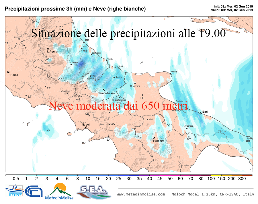 Neve in Molise