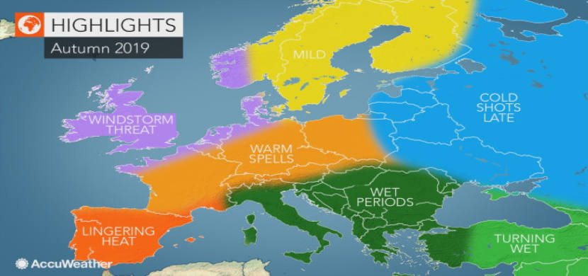 meteo autunno 2019