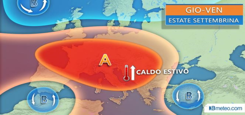 previsioni weekend