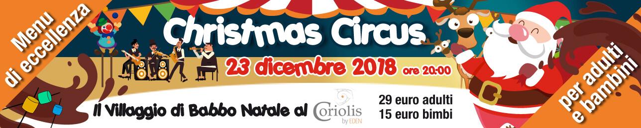CORIOLIS CHRISTMAS CIRCUS