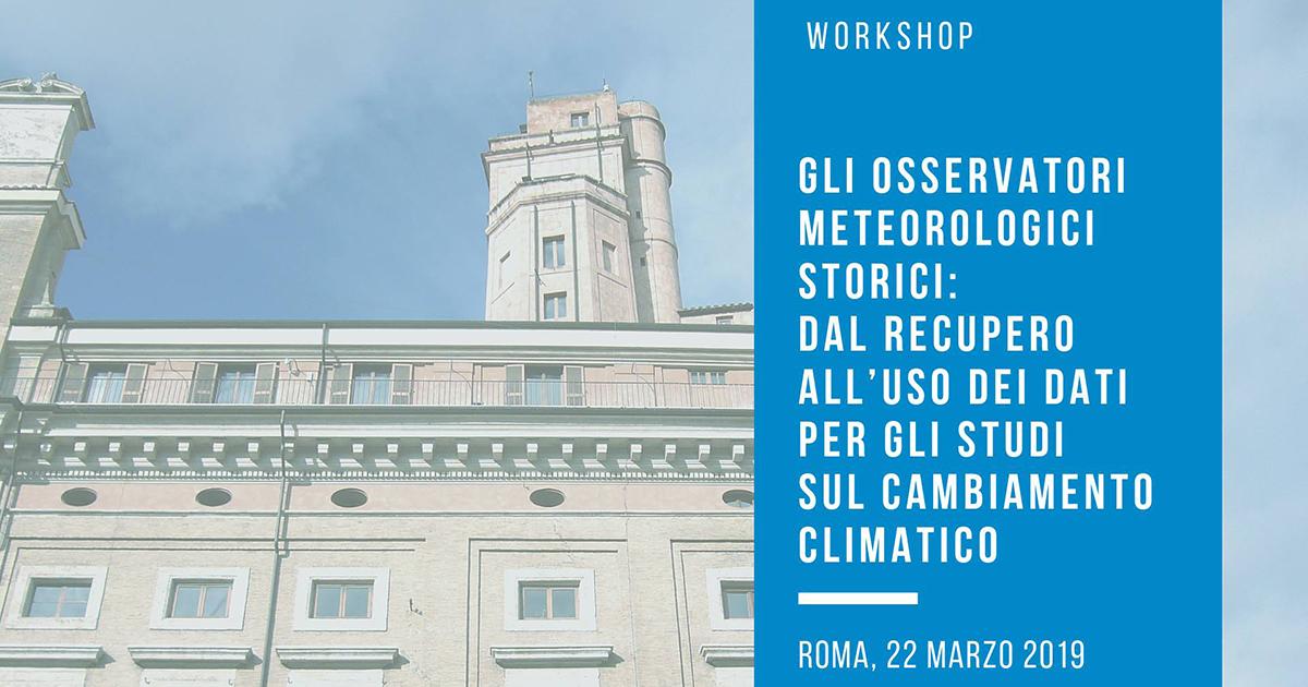 osservatori meteorologici