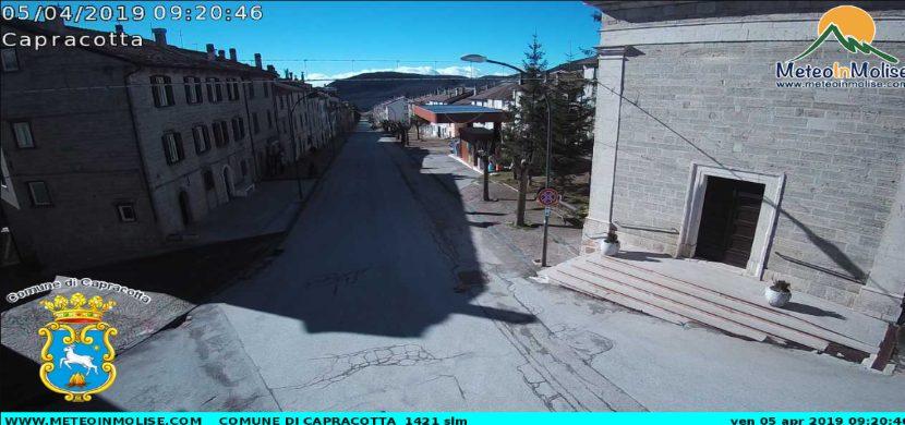 webcam di capracotta