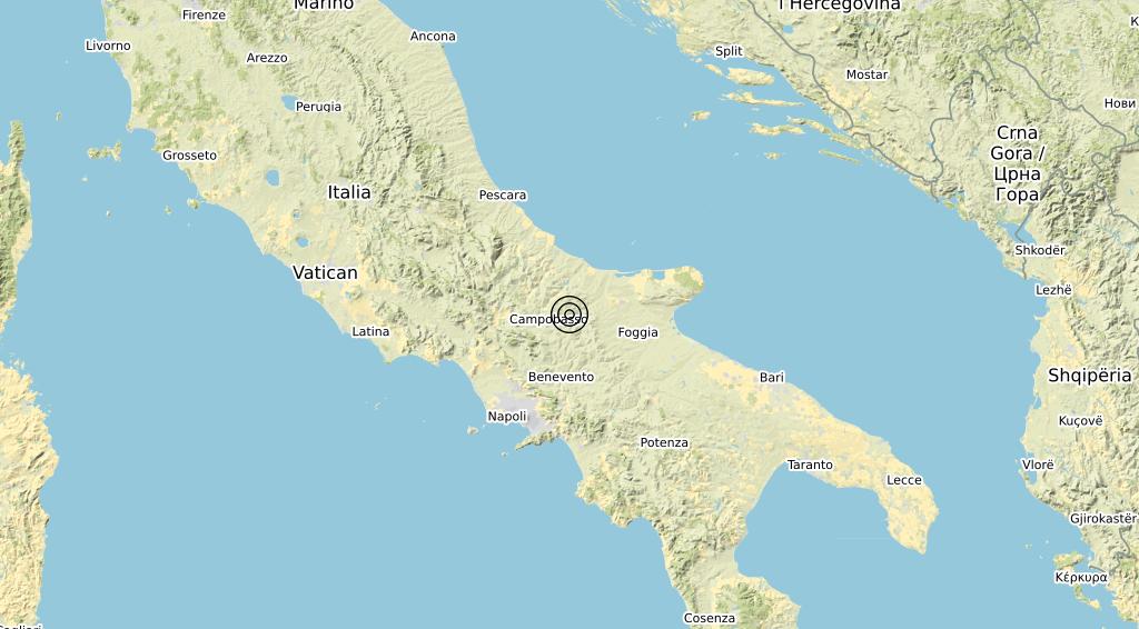 Terremoto Molise 24-11-2019