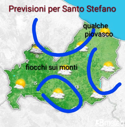 Meteo Santo Stefano