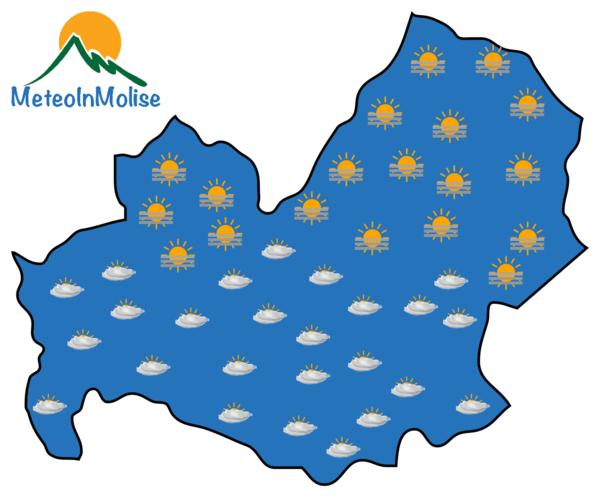 Previsioni Meteo Molise 30-03-2020
