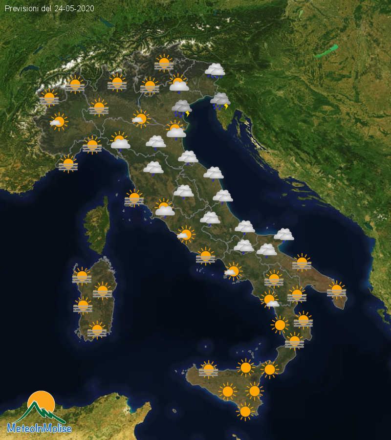 Previsioni Meteo Italia 23-05-2020
