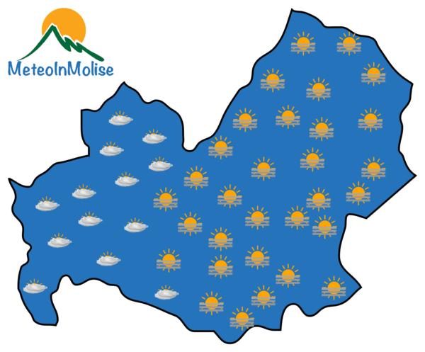 Previsioni Meteo Molise 29-05-2020